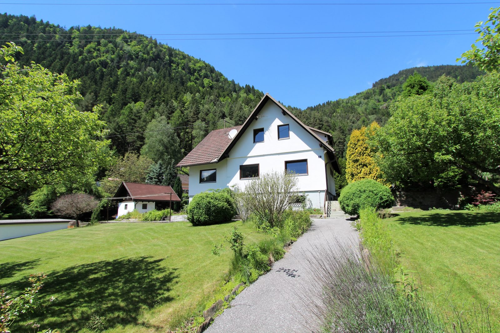 Te koop: vrijstaand huis bij de Millstättersee