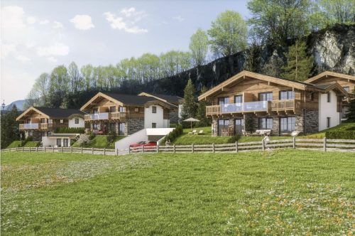 Luxe chalet-lodges